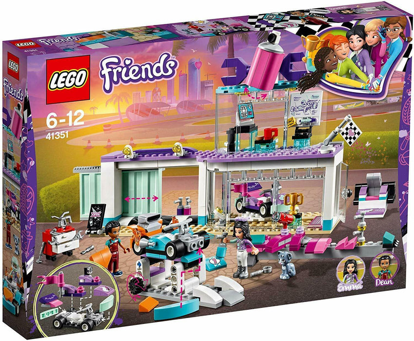 LEGO 41351 Friends Heartlake Creative Tuning Shop With Rotating Showroom