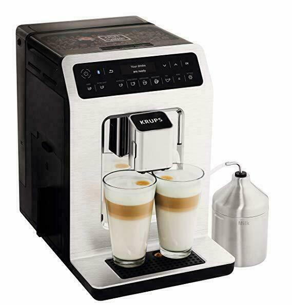 Krups Evidence EA893C40 Automatic Espresso Bean to Cup Coffee Machine - Chrome