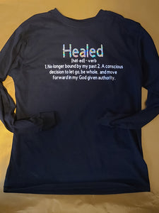 Healed Defined - Long sleeve