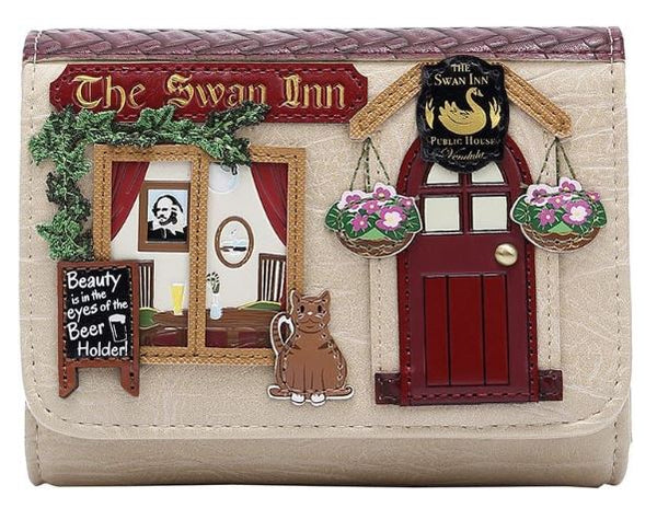 Vendula The Swan Inn Small Flap Over Wallet