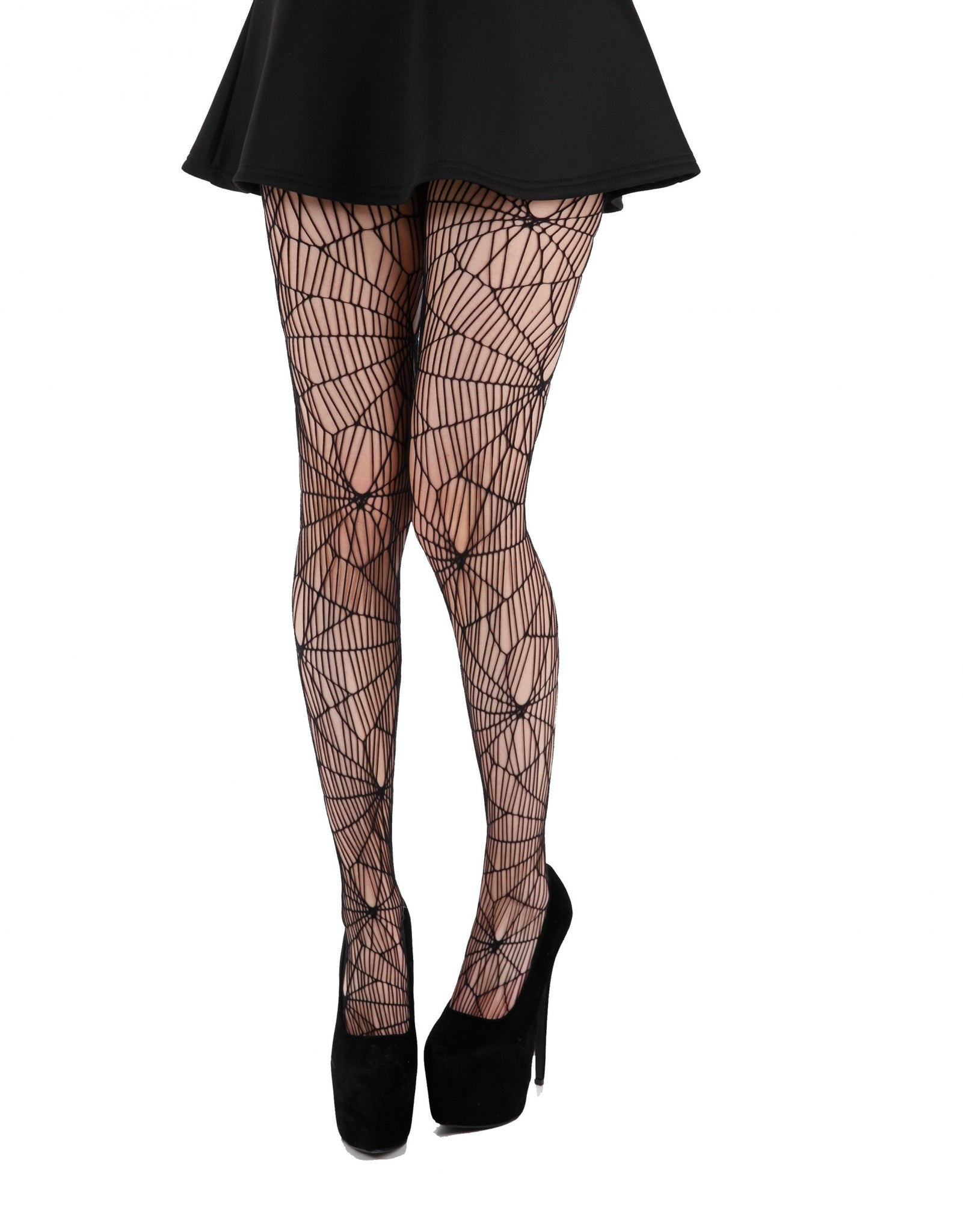 Pamela Mann Cobweb Pattern Black Net Halloween Tights; Pamela Mann; Halloween Tights; Net Tights; Cobweb Pattern Design; Black