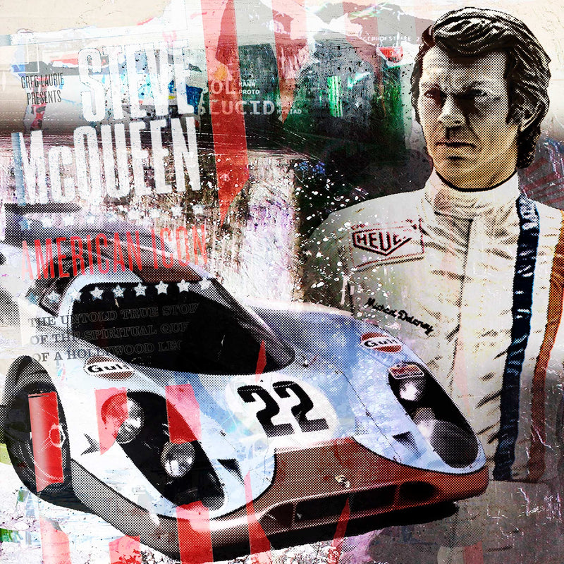 917 Steve Mc Queen - by Sander (exklusiv bei Antoro).