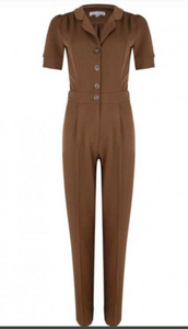 Jumpsuit Classic, caramell
