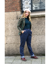 Laden Sie das Bild in den Galerie-Viewer, High Waist Trousers, denim