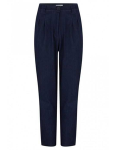 High Waist Trousers, denim