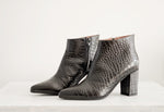 Karen low booties nero