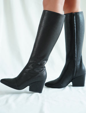 Scarlet High Boots Nero