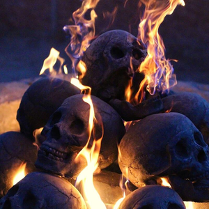 🔥🔥Halloween Hot sale</br>Terrifying human skull fire pit</br>Buy 5 free 3