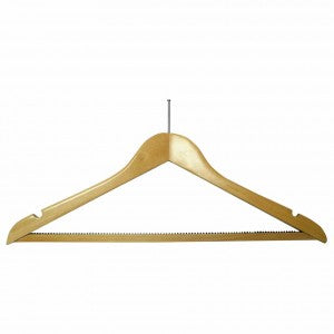Light wood security fix hanger (50)  Code H1 -  now 47p each