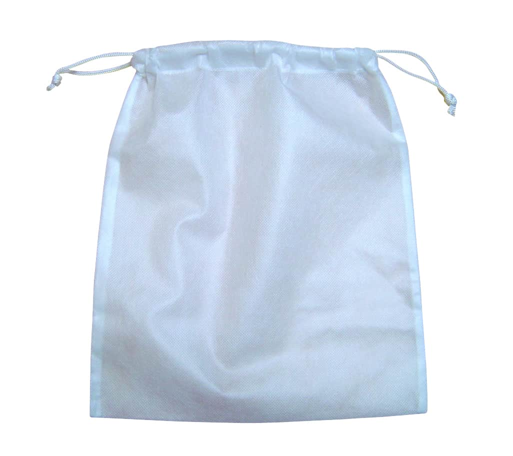 Wholesale non-woven hairdryer bag - plain stock (100) - 55p each