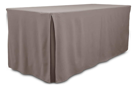 London table cover with splits