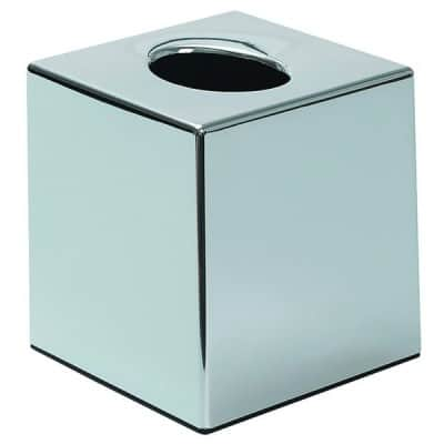 Chromed cube tissue box cover -  £6.75 each