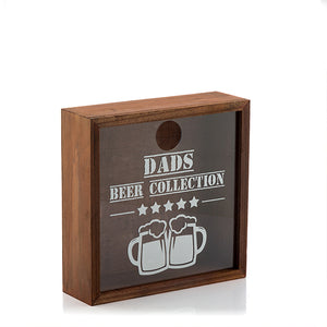 Scatola Decorativa per tappi Beer Collection
