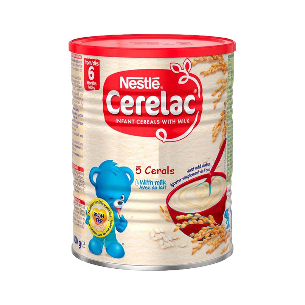 5 Cerelac with Milk