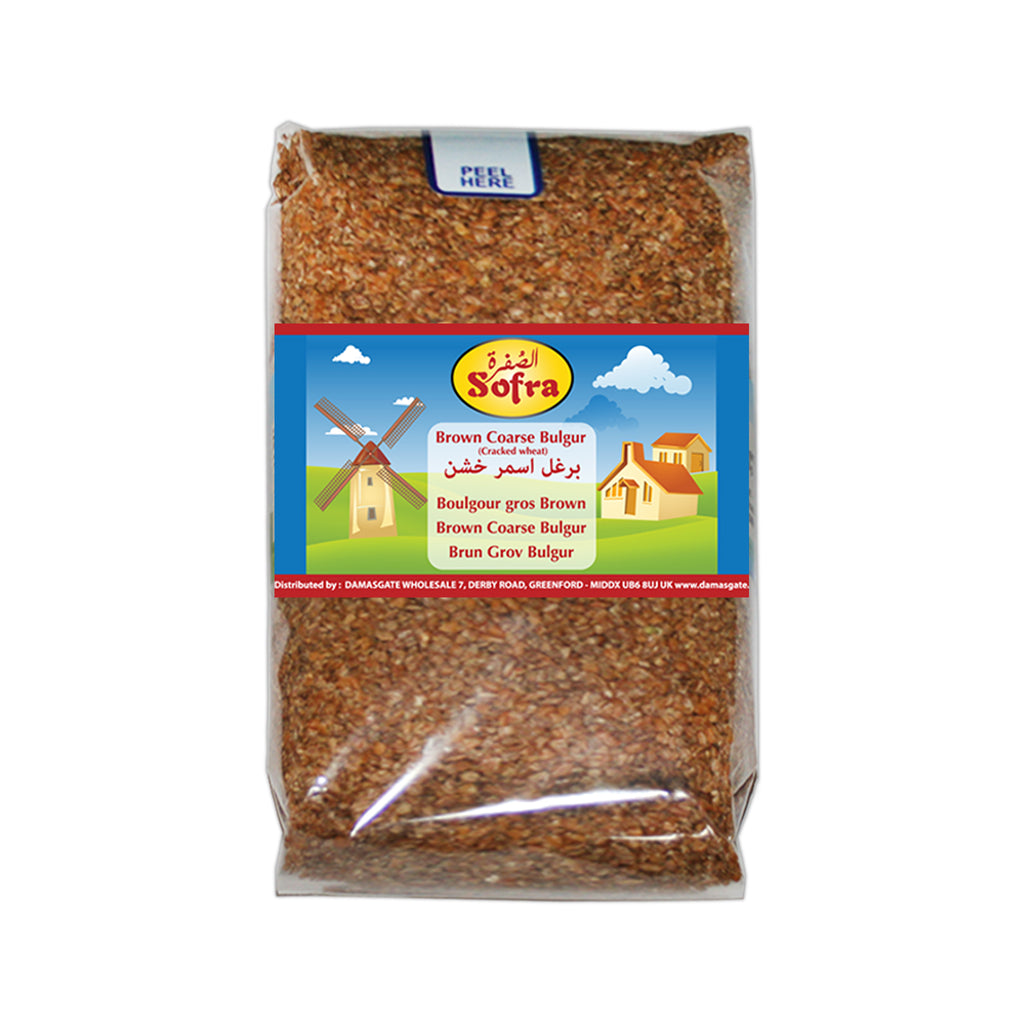 Brown Coarse Bulgur