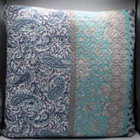 bedding, blue, cushion, paisley, vintage, warm, winter, Perth, Western Australia, Winter, Cold, Manchester, Delivery, Warm, Bargain, Value, Quality
