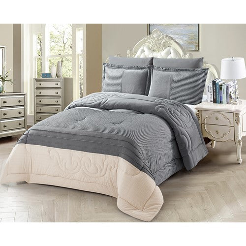 bedding, charcoal, comforter, grey, queen bed, warm, winter, Perth, Western Australia, Winter, Cold, Manchester, Delivery, Warm, Bargain, Value, Quality
