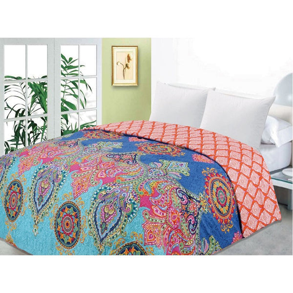 bedding, bright, comforter, indian, queen bed, vintage, warm, winter, Perth, Western Australia, Winter, Cold, Manchester, Delivery, Warm, Bargain, Value, Quality