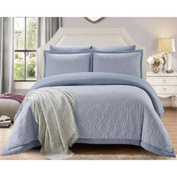bedding, blue, comforter, denim, queen bed, warm, winter, Perth, Western Australia, Winter, Cold, Manchester, Delivery, Warm, Bargain, Value, Quality