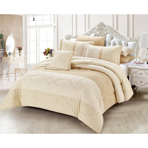 bedding, comforter, cream, queen bed, vintage, warm, winter, Perth, Western Australia, Winter, Cold, Manchester, Delivery, Warm, Bargain, Value, Quality