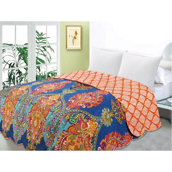 bedding, bright, indian, queen bed, quilt, vintage, warm, winter, Perth, Western Australia, Winter, Cold, Manchester, Delivery, Warm, Bargain, Value, Quality