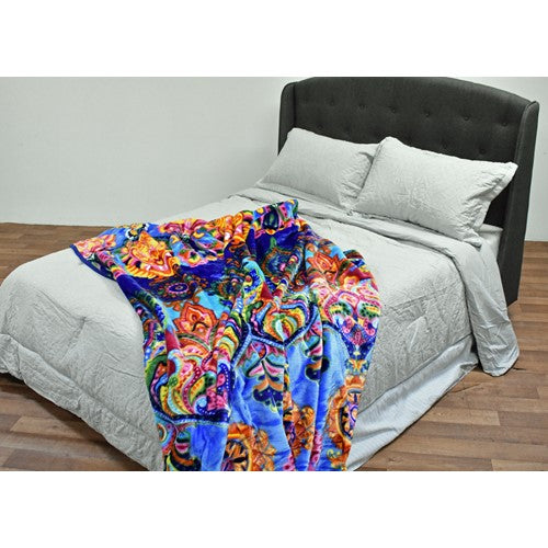 bedding, blanket, bright, children, dog, indian, queen bed, warm, winter, Perth, Western Australia, Winter, Cold, Manchester, Delivery, Warm, Bargain, Value, Quality