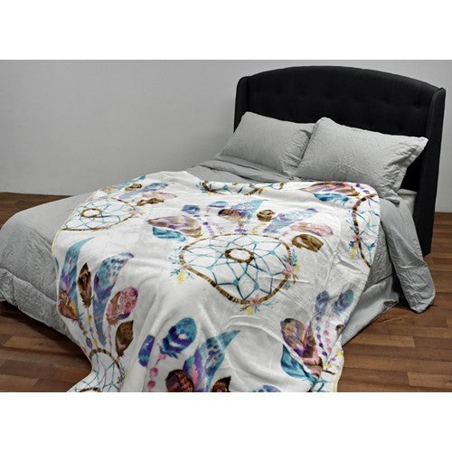 bedding, blanket, children, dog, dream catcher, king bed, mink, warm, winter, Perth, Western Australia, Winter, Cold, Manchester, Delivery, Warm, Bargain, Value, Quality