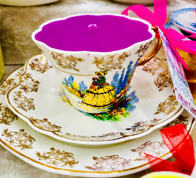 The Crinoline Lady Teacup