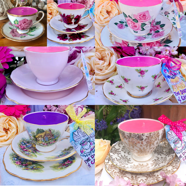 1950s Vintage Teacups & Tablewares