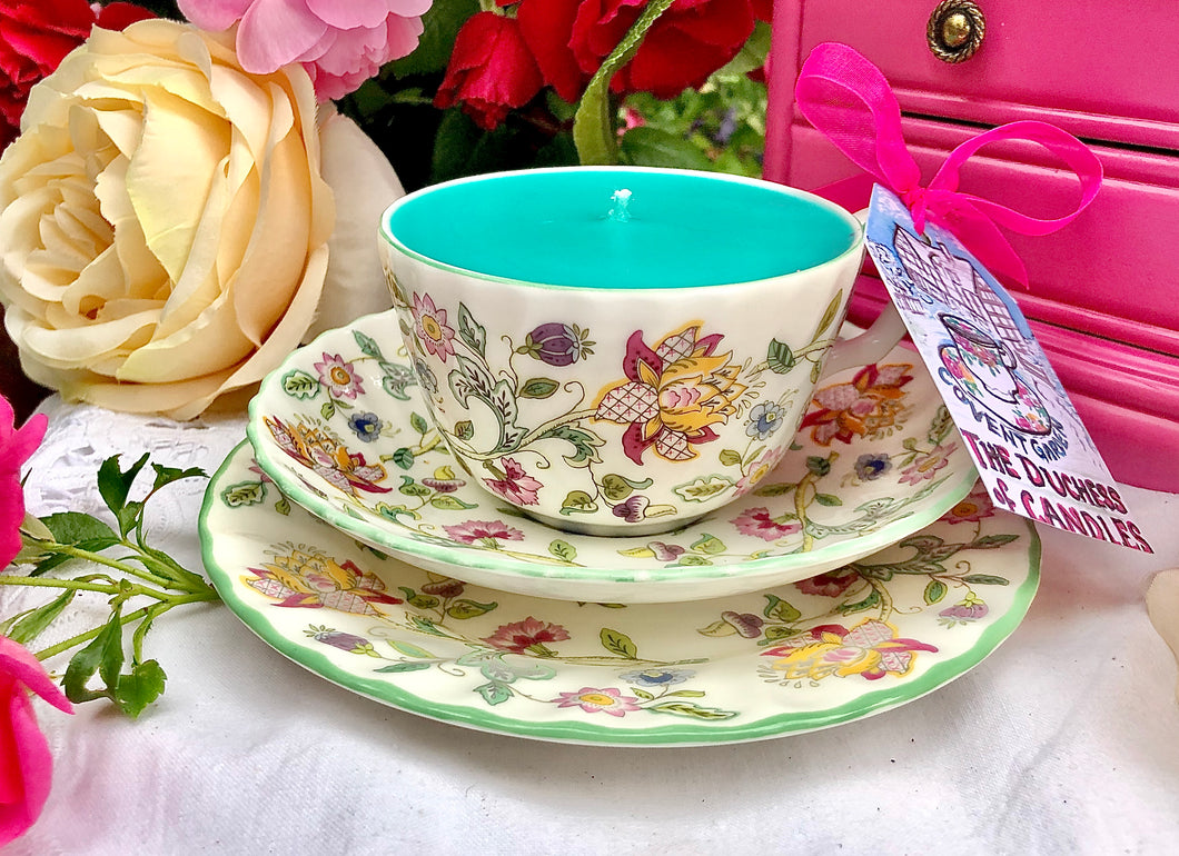 Minton Teacup Trio - Set Haddon Hall