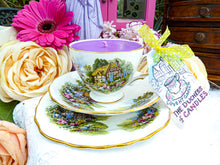 Load image into Gallery viewer, Royal Vale Teacup Trio - Set English Country Cottage