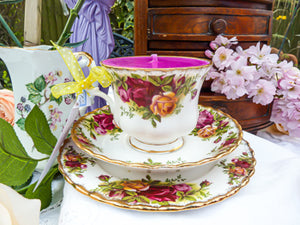 Royal Albert Teacup Trio Set  - Old Country Roses