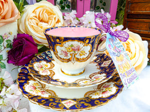 Royal Stafford Teacup Trio - Set Heritage Imari Antique
