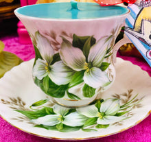 Load image into Gallery viewer, Royal Albert 'Trillium' Coffee cup & saucer