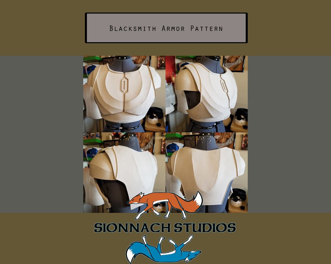 Blacksmith Armor Pattern inspired by The Armorer (from The Mandalorian)