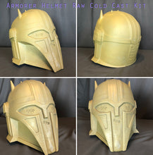 Load image into Gallery viewer, Resin Helmet Inspired by The Armorer Blacksmith (from The Mandalorian)