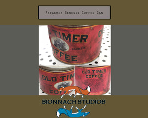Preacher Inspired - Replica Prop Genesis Coffee Can