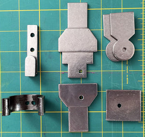 Kanan Jarrus Star Wars Rebels - Belt Parts for Cosplay - STL Files for 3D Printing