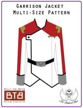 Load image into Gallery viewer, Voltron Inspired Galaxy Garrison Jacket Pattern for Cosplay