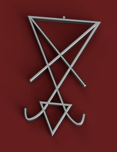 Good Omens Chattering Nuns of St. Beryl Inspired Brooch and Necklace - STL Files for 3D Printing