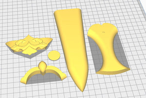 Fire Emblem: Three Houses -  Byleth Dagger - STL Files for 3D Printing