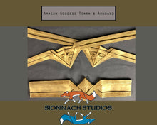 Load image into Gallery viewer, Amazon Goddess - Wonder Woman Inspired - Flexible Tiara and Armband