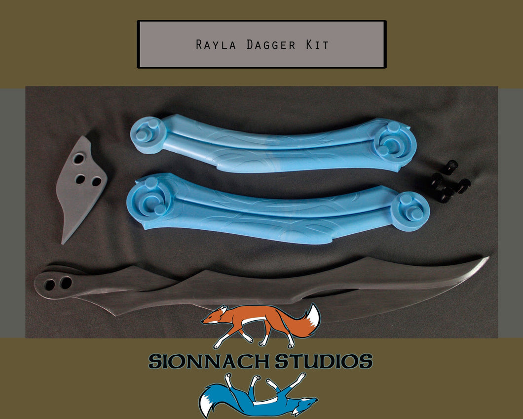 The Dragon Prince Inspired Rayla Dagger Kit for Cosplay