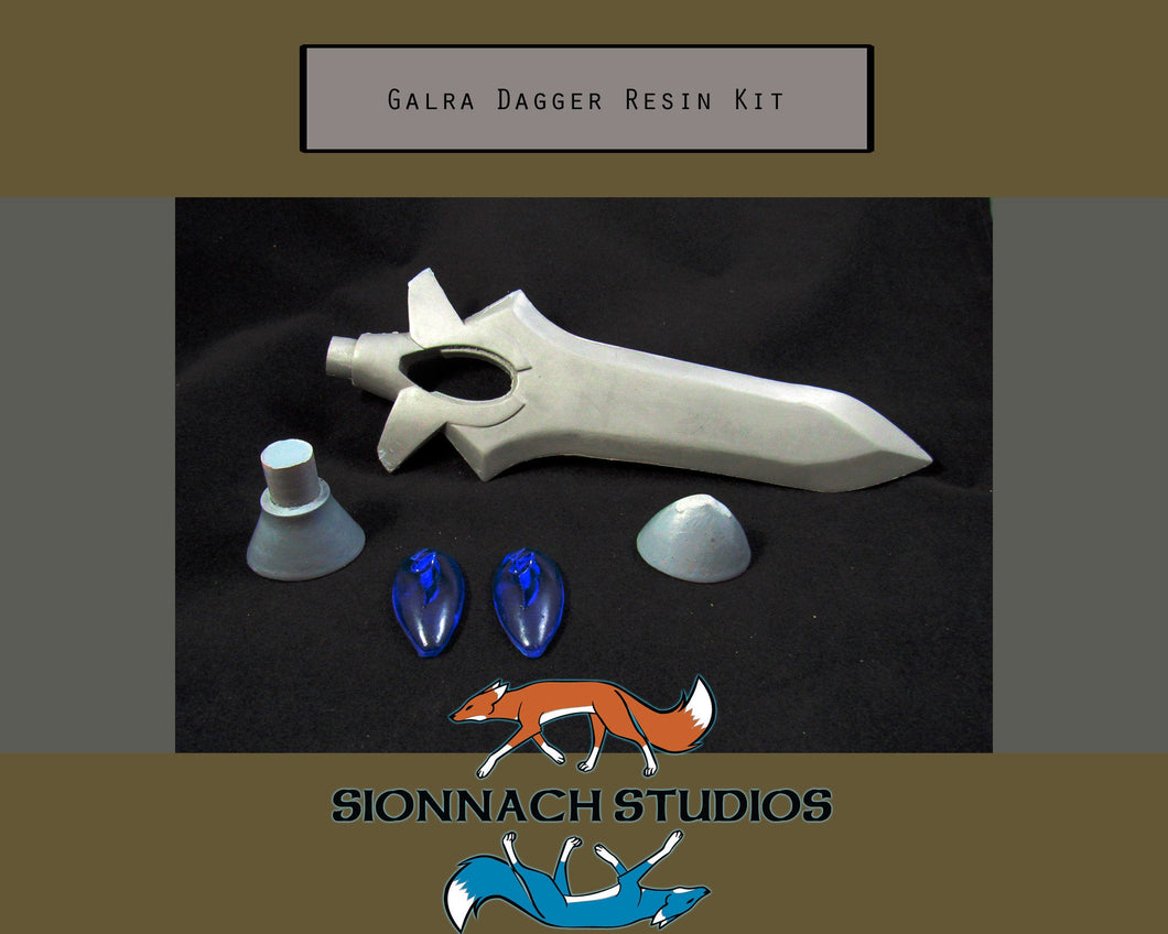 Voltron Inspired Blade of Marmora Dagger Prop for Cosplay - Resin Kit