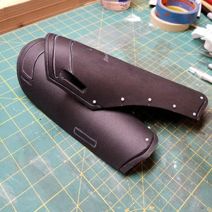 Valkyrie Inspired Upper Arm Harness and Bracer Template