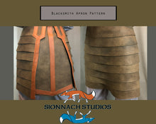 Load image into Gallery viewer, Blacksmith Apron Pattern inspired by The Armorer (from The Mandalorian)