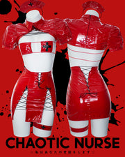 Chaotic Nurse Outfit Red MF00501
