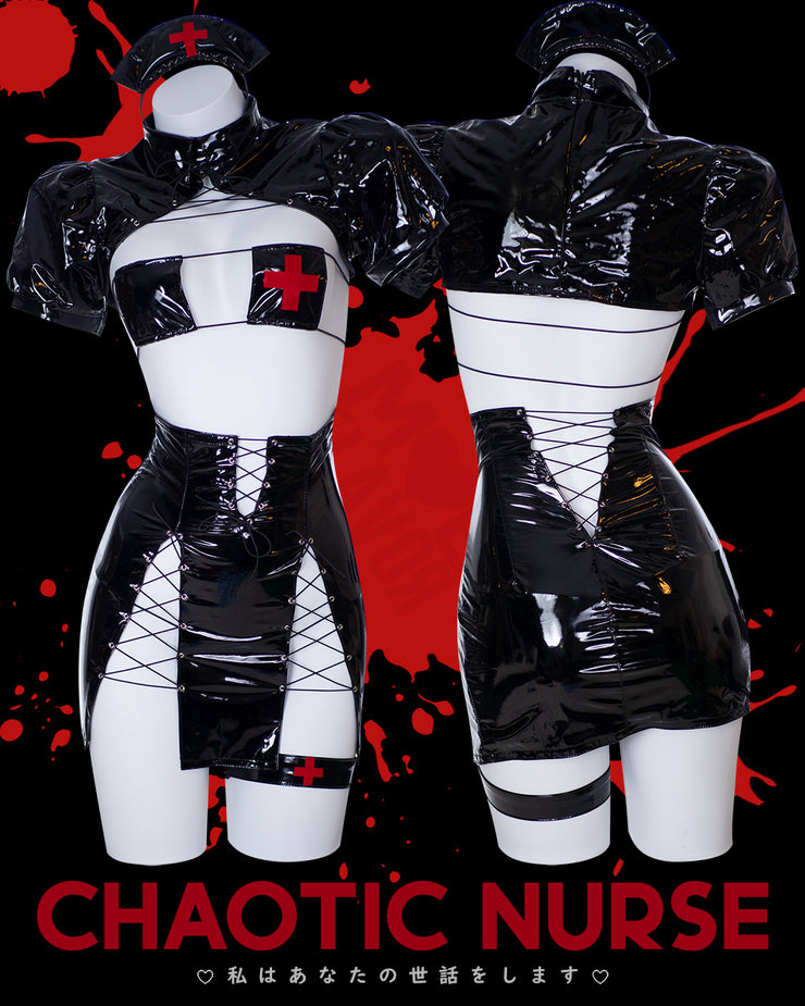 Chaotic Nurse Outfit Black MF00500