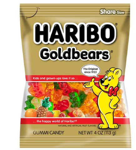 Gummy Bears - Haribo Goldbears (4oz)