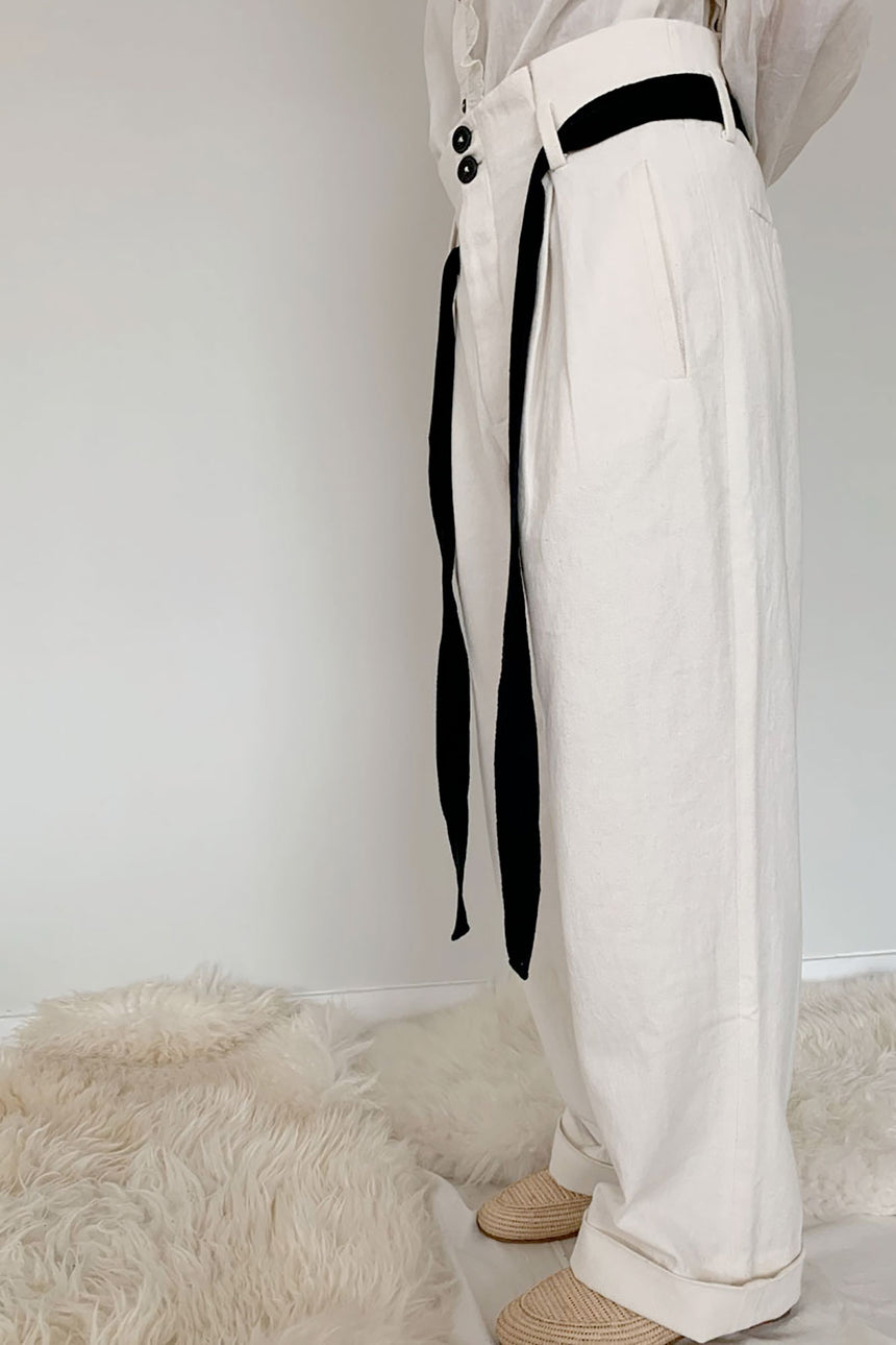 new! chemise Perla off-white